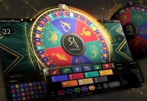 SA game  display