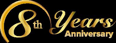 12Play Malaysia 8th Years Anniversary Event Logo